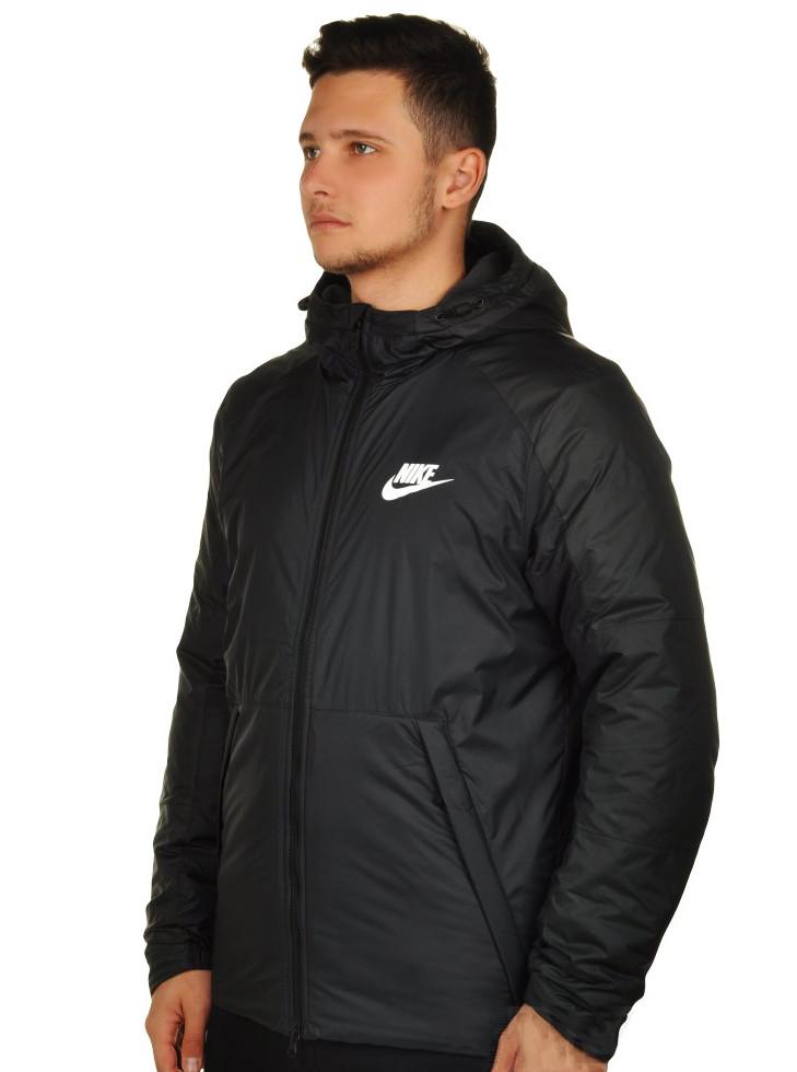 Спортивная демисезонная мужская куртка NIKE с капюшоном