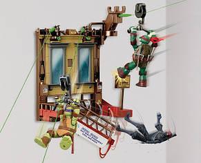 Набор серии ЧЕРЕПАШКИ-НИНДЗЯ СКОРОСТНОЙ СПУСК - Полет из окна, фото 2