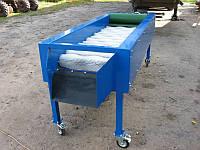 Щеточная машина для очистки картофеля 14 щеток