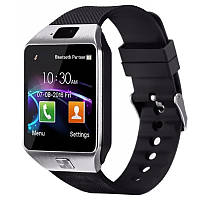 ★Смарт-часы UWatch DZ09 Grey мультимедийные сопряжение с android смартфонами поддержка SIM карт
