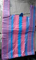 """Пакет упаковочный """"Майка полоса №2"""" средний 37х59см уп2х50"""