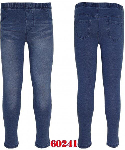 Леггинсы джинсовые для девочек, GRACE, размер 146. арт. G 60241