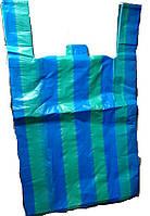 """Пакет упаковочный """"Майка полоса №3"""" средний 40х67см уп2х50"""