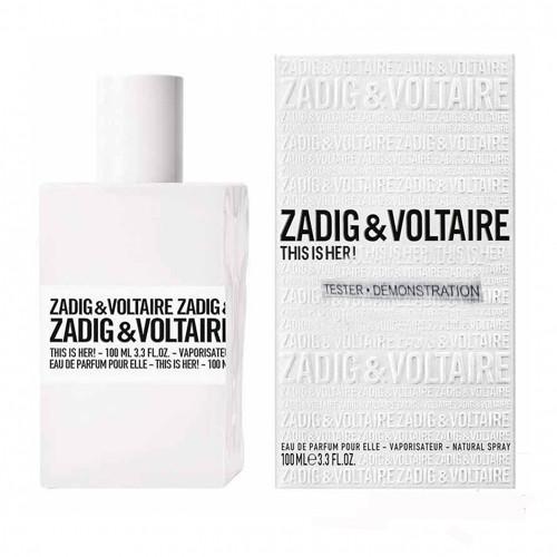 Тестер женский Zadig&Voltaire This is Her  100 мл