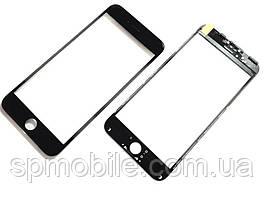 Стекло дисплея с рамкой и пленкой OCA Apple iPhone 6S черная
