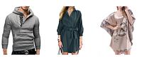 Обновляем гардероб мужчин и женщин