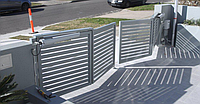 Складные, гармошкообразные ворота, фото 1