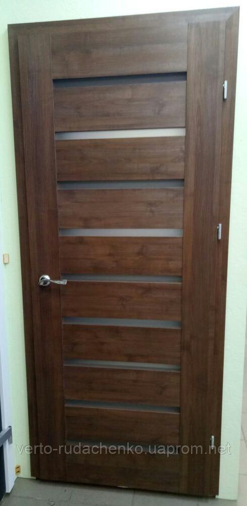 Двери Verto Лада-Нова 4.9 цвет Орех «Резист»