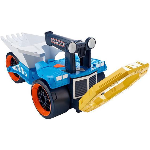 Купить грузовик-металлоискатель Matchbox