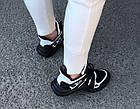 Женские кроссовки Louis Vuitton Archlight Black (в стиле Луи Витон) черные, фото 8