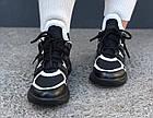 Женские кроссовки Louis Vuitton Archlight Black (в стиле Луи Витон) черные, фото 3