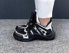 Женские кроссовки Louis Vuitton Archlight Black (в стиле Луи Витон) черные, фото 2