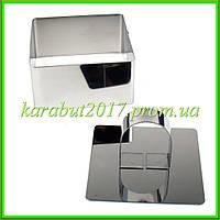 Форма для салатов и гарниров с прессом ( квадратная ) L8*8см h4см