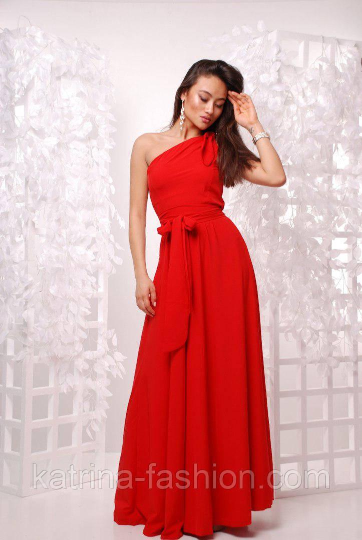 Женское красивое платье в пол (3 цвета)