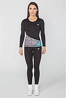 Спортивная женская футболка с длинным рукавом Radical Reaction LS, лонгслив,рашгард,компрессионная