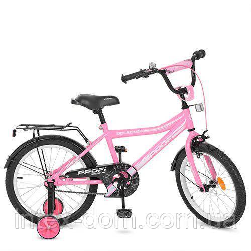 """Велосипед двухколесный Profi Top Grade 18"""" Розовый (Y18106)"""