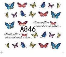 Водные наклейки для ногтей А346