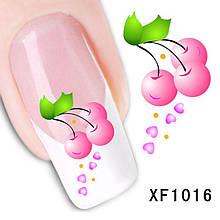 Наклейки для ногтей  XF1016