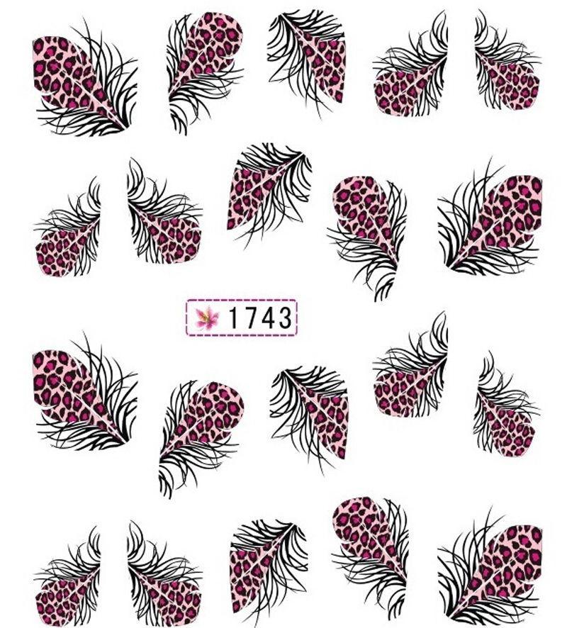 Наклейки для ногтей 1743