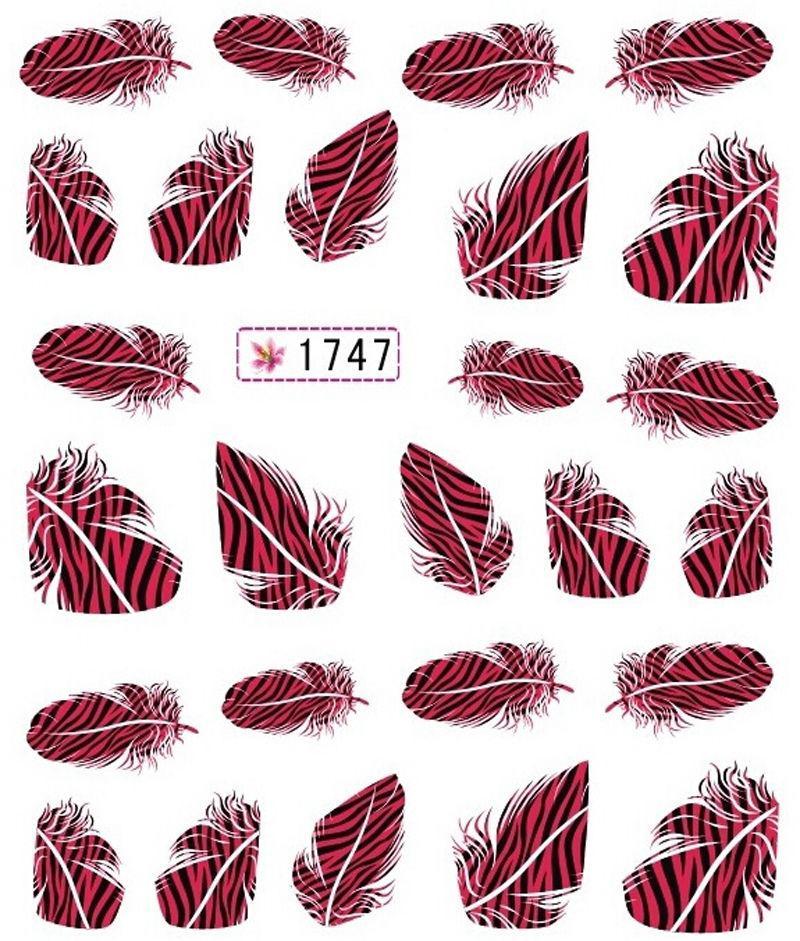 Наклейки для ногтей 1747