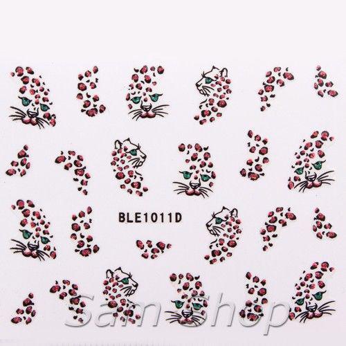 Наклейки для ногтей BLE1011D