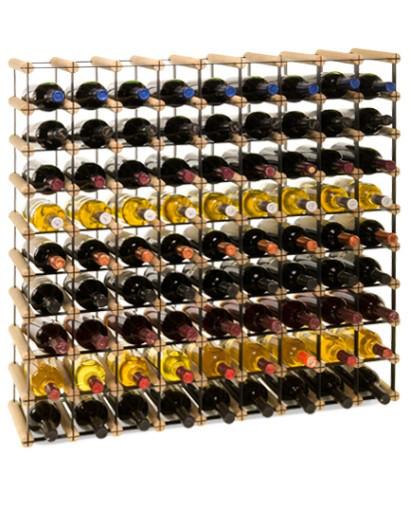 Винная полка RW-8 9x9 для 81 бутылки