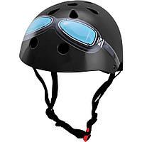 Шлем детский Kiddimoto Black Goggle, размер M 53-58см (HEL-27-25)