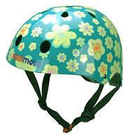 Шлем детский Kiddimoto Fleur, размер M 53-58см (HEL-02-84)