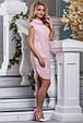 Красивое летнее женское платье 2637 розовый, фото 3
