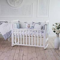 Детский постельный комплект Mon Cheri из 7 элементов, серый, фото 1