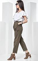 Стильный летний костюм с брюками, фото 2