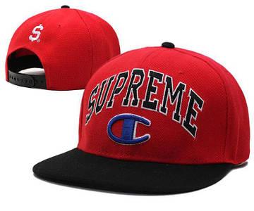 Кепка Supreme All Red бейсболка красная
