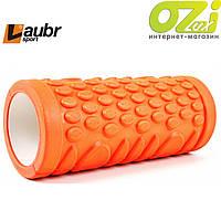 Массажный валик для фитнеса Laubr sport 33см