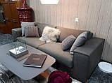 Раскладной серый диван MANHATTAN 250 см ALBERTA (Италия) бесплатная доставка, фото 3