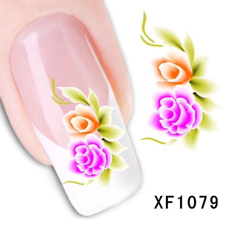 Наклейки для ногтей XF1079