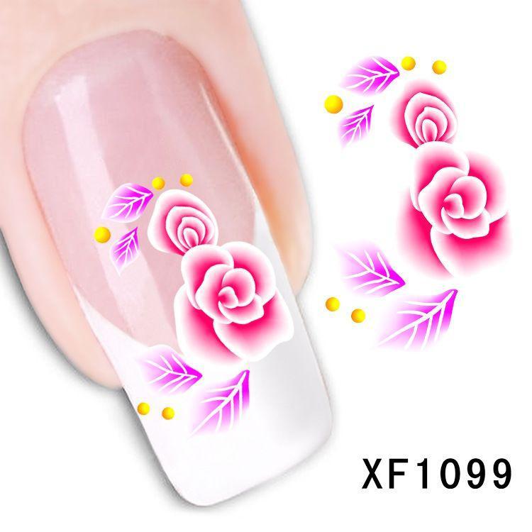 Наклейки для ногтей XF1099