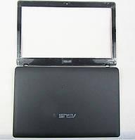 Верхняя часть корпуса Asus A52J K52DE K52DR K52DY K52F K52JB K52JC (комплект крышка матрицы + рамка), фото 1