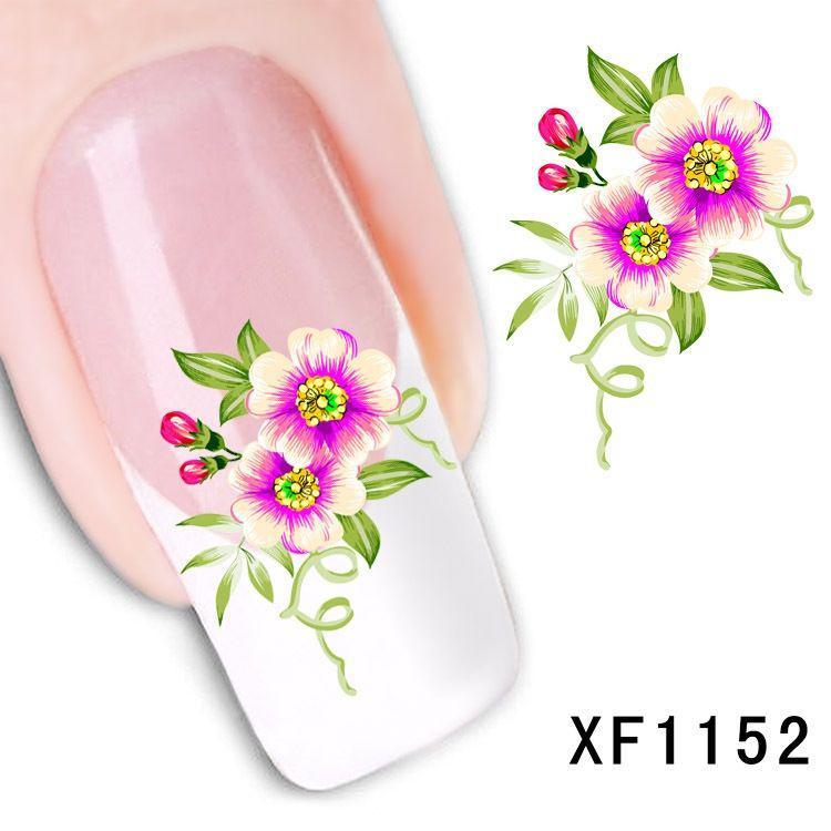 Наклейки для ногтей XF1152