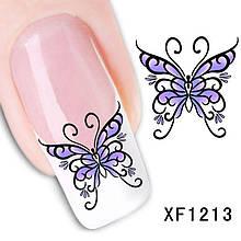 Наклейки для ногтей XF1213