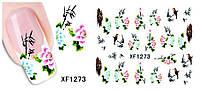 Стикеры для ногтей - размер стикера 5*6см, инструкция по применению есть в описании товара