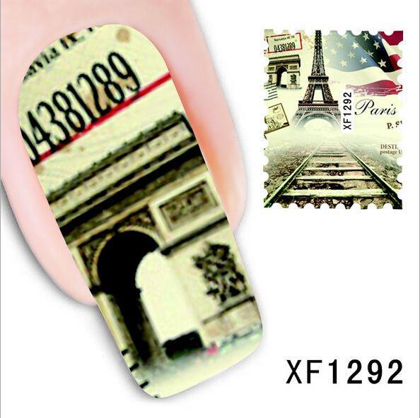 Наклейки для ногтей XF1292