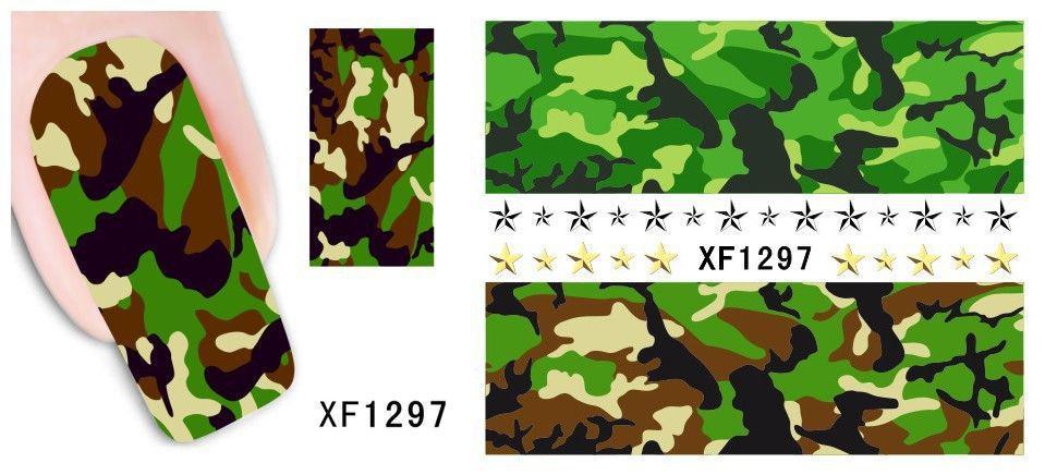 Наклейки для ногтей XF1297