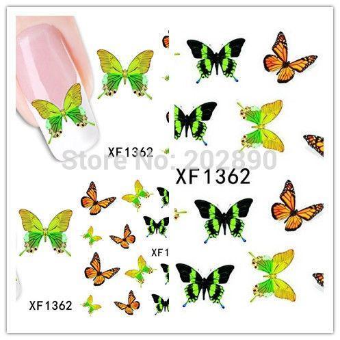 Наклейки для ногтей XF1362