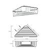 BEMETA CYTRO: Угловая мыльница, фото 2
