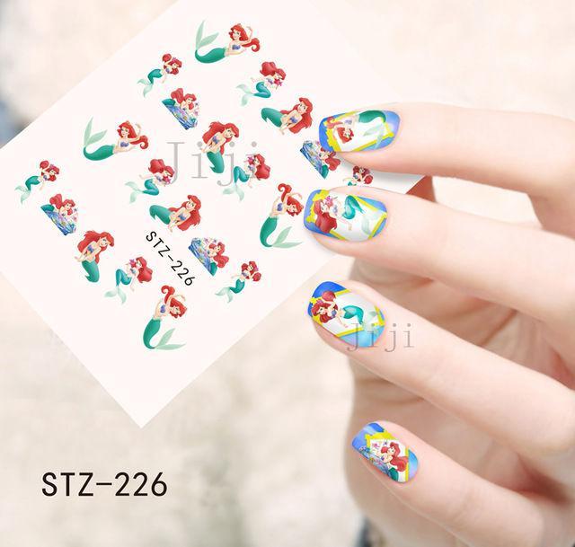 Наклейки для ногтей Русалка STZ-226