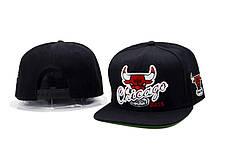 Кепка Chicago Bulls City Black Бейсболка Чикаго Булс Черная