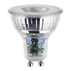 Светодиод GU10 IKEA LEDARE 400 лм теплый оттенок может быть затемнен 803.632.28