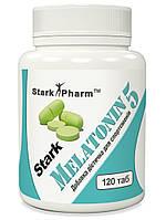 Мелатонин Stark Pharm -  Melatonin 5 мг (120 таблеток) (для сна и режима)