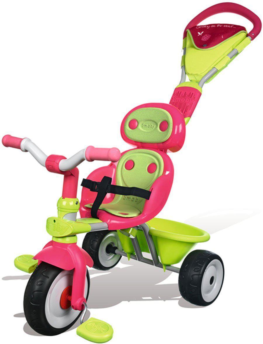 Велосипед трехколесный Baby Driver Confort Girl  Smoby 434118