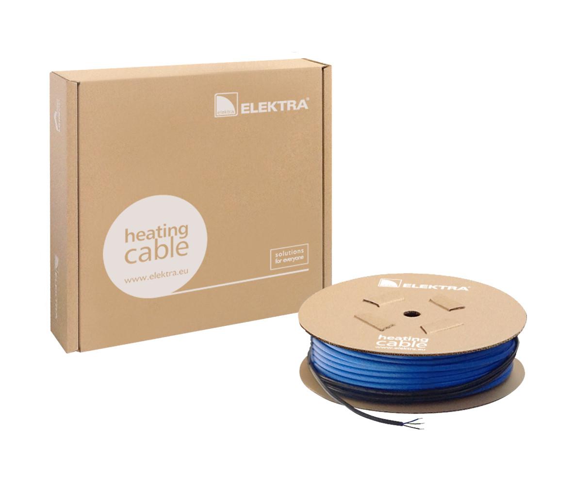 ELEKTRA VCD 17/350 - 20,5 м (350 Вт) двожильний нагрівальний кабель для теплої підлоги